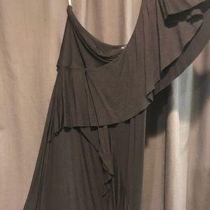 One sleeve Twenty One by Forever 21 dress